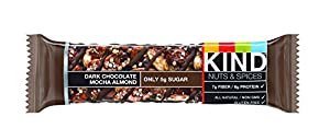 KIND Nuts & Spices, Dark Chocolate Mocha Almond, 12 Bars by KIND