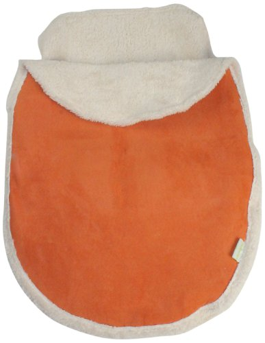 Tadpoles Micro-Suede Sherpa Stroller and Car Seat Cover, Orange (Discontinued by Manufacturer) - 1