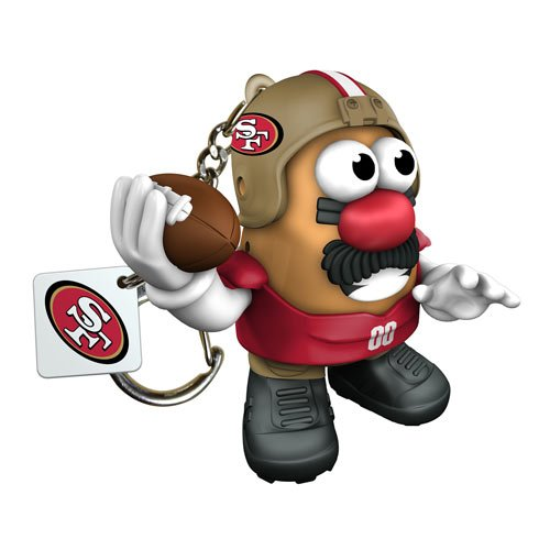 NFL San Francisco 49ers Mr. Potato Head Key Chain at Amazon.com