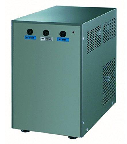 Refroidisseur d'eau banc de glace encastrable - L255 x P400 x H400 mm - COSMETAL