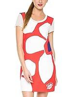 Desigual Vestido (Rojo)