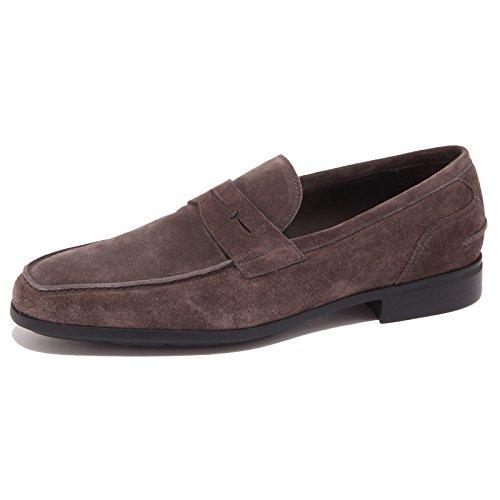 9136P mocassino uomo J. HOLBENS suede grigio shoe men [42]