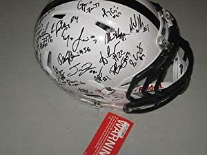 Penn State 2013 Team Signed Authentic Football Helmet PROOF Christian Hackenberg -... by Sports+Memorabilia