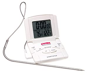 Pyrex Digital Probe Oven Thermometer/ Timer