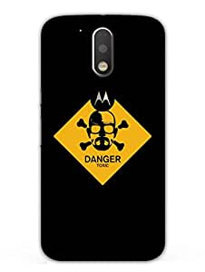 Breaking Bad - Typography - Hard Back Case Cover for Moto G4 - Superior Matte Finish - HD Printed Cases and Covers
