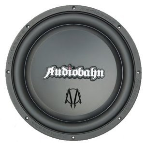 Audiobahn AMW80H 8-Inch 4-Ohm Murdered Out Series Subwoofer