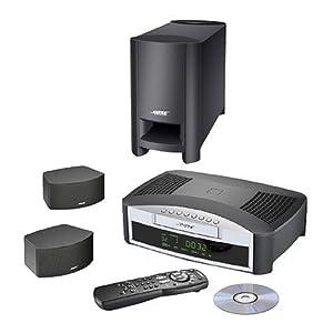 bose 3 2 1 gs dvd home entertainment system graphite electronics. Black Bedroom Furniture Sets. Home Design Ideas