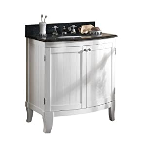 Cool  Bath  Simpli Home 30quot Chelsea Bathroom Vanity With Marble Top And