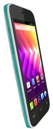 Wiko Iggy Dual-SIM Smartphone (5 Megapixel, Dual Core Cortex A7, 1,3GHz, Android 4.2.2) azurblau/türkis