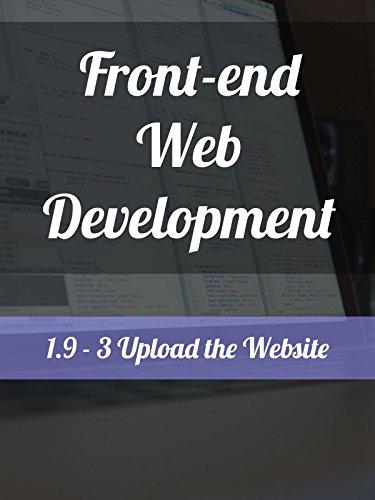 1.9 - 3. Upload the Website