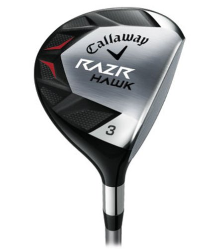 Callaway Men's RAZR Hawk Fairway Woods (Right-Handed, 18 Degree Loft, Graphite, Regular Shaft)