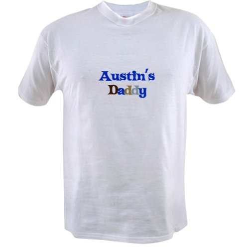 Personalized Austin'S Daddy Father'S Day Shirt - Customize With Any Boy Or Girls Name front-892388