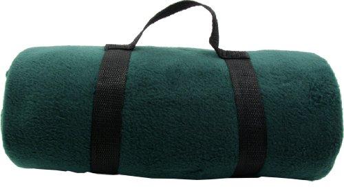 2 Pieces Bulk Wholesale Warm 50 X 60 Inch Ultra Soft Fleece Throw Blanket Green
