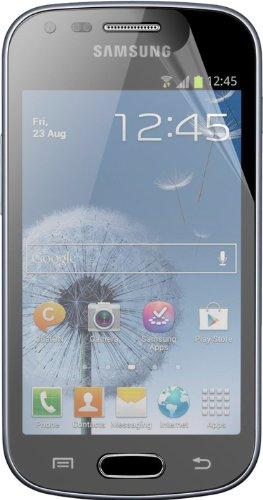 2 x nandu Schutzfolie für Samsung Galaxy Trend Plus GT-S7580 - Displayschutzfolie klar Galaxy Trend Plus GT-S7580 Folie