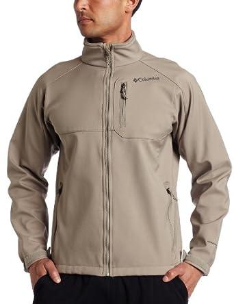 Columbia Men's Ascender II Softshell Jacket, Tusk, Medium