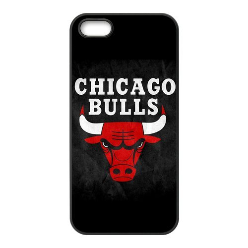 NBA Chicago Bulls Logo High Quality Inspired Design TPU Protective cover For Iphone 5 5s iphone5-NY298 at Amazon.com