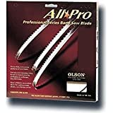 Olson Saw APG72605 1/2 by 0.025 by 105-Inch All Pro PGT Band 3 TPI Hook Saw Blade