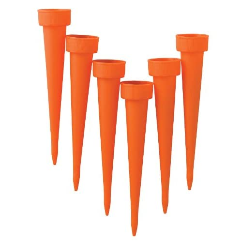 Master Craft Plant Watering Spikes, Set of 6 Patio, Lawn