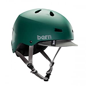 Bern Macon Summer Matte EPS Helmet with Visor by Bern Unlimited