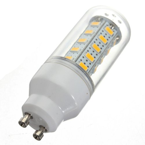 Kingso 7W Corn Led Gu10 Lights 220V 5730 36 Smd Frosted Cover Bulb Warm White