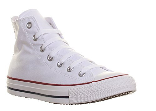 Unisex Chuck Taylor All Star High Top Sneakers (6.5 (MEN) / 8.5 (WOMEN) US, Optical White)