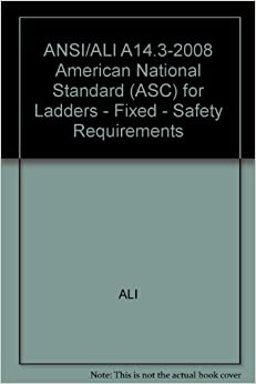 Ansi Ali A14 3 2008 American National Standard Asc For