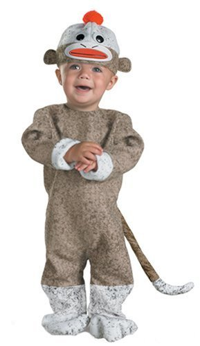 Jekyll and Hyde Adorable Sock Monkey Infant /