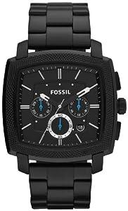 Fossil Men's FS4718 Machine Black Stainless Steel Watch