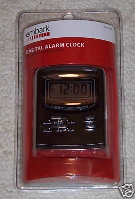 Embark Digital Alarm Clock