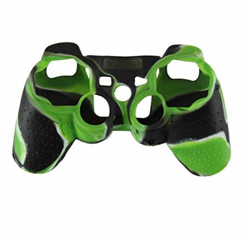 Usstore 1PC Kid Baby Camouflage Silicone Skin Case Cover for SONY Playstation 3 PS3 Controller game toy gift (Old Ps3 compare prices)