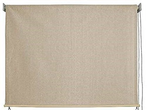 keystone fabrics exterior roller shade 8 feet by 6 feet monterey awnings patio and furniture