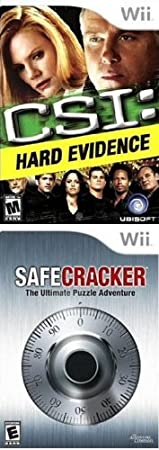 Wii Puzzle 2 Pack: CSI Crime Scene Investigation 4 Hard Evidence + Safe Cracker: The Ultimate Puzzle Game
