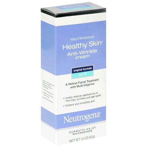 Neutrogena Healthy Skin Anti-Wrinkle Cream, SPF 15, 1.4 Ounce (Pack of 2)