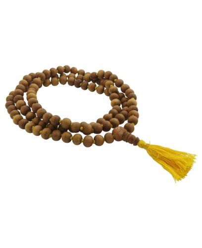 Sandalwood Meditation Mala 108 Beads Knotted