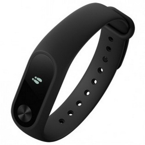 Mi Band 2 Smart Activity tracker with Heart rate monitor for Android, iPhone and Other Smartphones (Black)