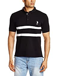 U.S.Polo.Assn. Men's T-Shirt (8907259666105_USTS2518_Small_Black)