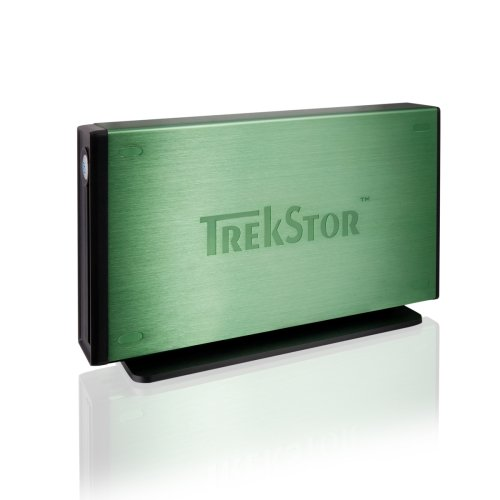 Trekstor DataStation maxi m.ub externe 8,9 cm (3,5 Zoll) Festplatte grn 1 TB USB 2.0