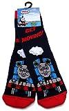 Boys Thomas The Tank Engine Get Moving Slipper Socks UK Size 6-8.5 / 2-3 Years