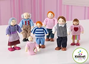 Doll Family of 7 Caucasian