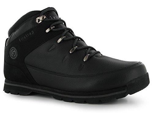 Mens Firetrap Rhino Stripy lacci stivali scarpe (UK 7/EU 40)