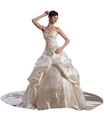 Herafa Wedding Dress Elegant NOw35598 At Amazon Womens Clothing Store Plus Size Wedding Gowns