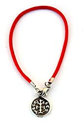 Red String Solomon Seal Victory Bracelet for Men