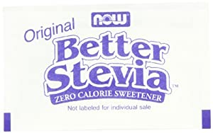 NOW Foods Stevia Packets, 1000-Count