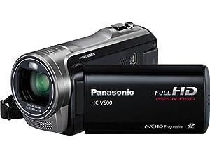 Panasonic HC-V500K Full HD SD Camcorder (Black)