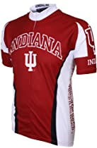 NCAA Indiana Cycling Jersey,X-Large