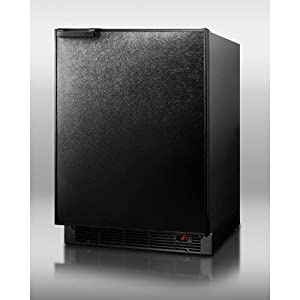 SUMMIT Refrigerator Freezer With Cabinet BI605B