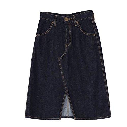 (ムルーア)MURUA Aラインスリットスカート 011510800101 インディゴ 1(S)