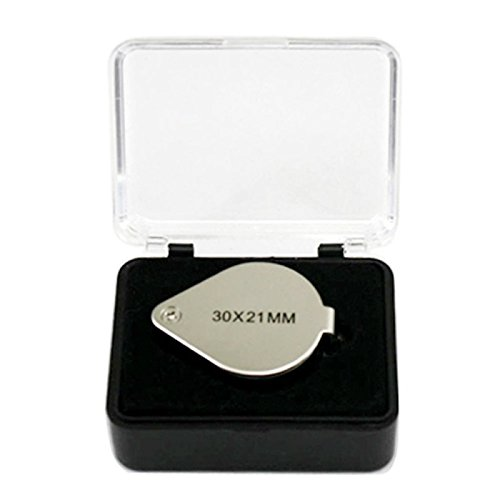 Great Value Loupe & Magnifying Glass 30X 21MM Jewellers Magnifying Glass Magnifier