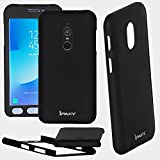 #4: Xiaomi Mi Redmi Note 4 - 360 Degree Full Body Protection Front & Back Case Cover (iPaky Style) with Tempered Glass for Mi Note 4 (BLACK DESIGN)