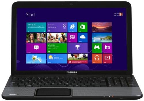 Toshiba Satellite C855-2ET 15.6-inch Notebook (Silver)-(Intel Core i5-3230M 2.6/3.2GHz, 6GB RAM, 750GB HDD, Windows 8, USB 3.0)